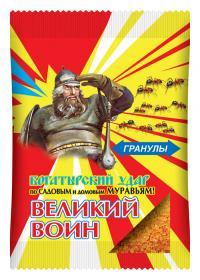 Великий Воин гранулы от муравьев 150 гр.