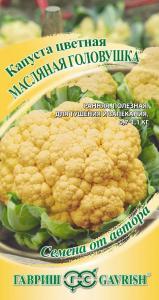 Капуста цветная Масляная головушка (сырно-желтая) 10 шт.