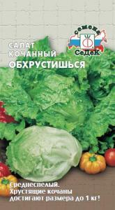 Салат Обхрустишься (айсберг) 0,5 гр. кочанный