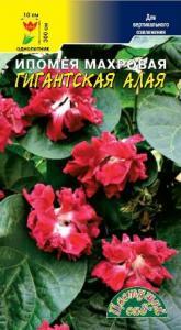 Ипомея Гигантская Алая махр.5  шт..