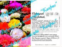 Портулак Княжеский коврик махр.смесь (20пак*0,3 гр.) Германия