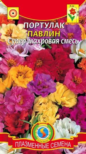 Портулак Павлин супер-махровый 0,1 гр.