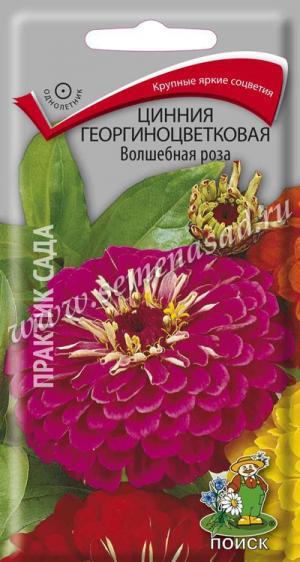 Цинния Волшебная роза 0,4 гр.