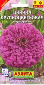 Цинния Крупноцветковая пурпурная 0,3 гр.