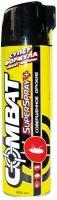 Аэрозоль COMBAT SuperSpray Plus от ползающих насекомых желтый 400 мл.