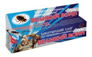 Шприц Великий Воин Тараканы и муравьи туба 80 гр.