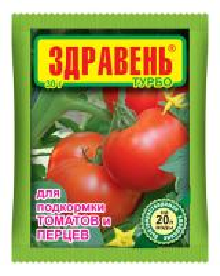 Здравень томат и перец (подкормка) 30 гр.  (0310)