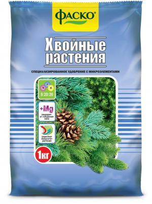 Удобрение Фаско тукосмесь Хвойные растения 1кг.