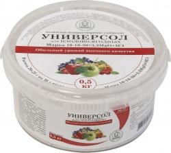 Универсол Плодово-ягодный 10-10-30+3,3MgО+мэ 0,5 кг.