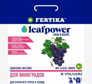 Фертика Leaf POWER водорастворимое для винограда 50 гр.