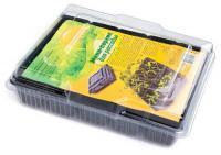 Микропарник набор для рассады (крышка+дно+5 кассет)