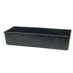 Ящик для рассады черный №1 500х200х100 мм.
