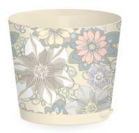 Горшок 2 литра Easy Grow Цветочный дом с прикорневым поливом диаметр 160мм  (ING47016ЦД)