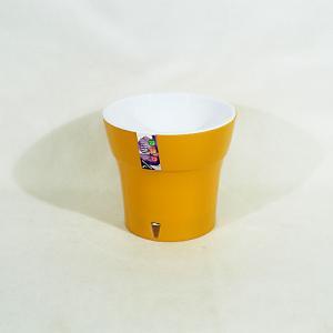 Горшок Дали 3,5 литра карамель-белый