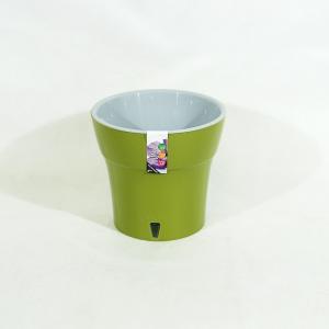 Горшок Дали 3,5 литра оливковый-серый