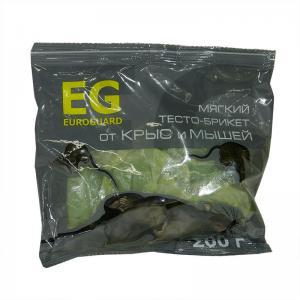 Брикет мягкий EUROGUARD от крыс и мышей 200гр.