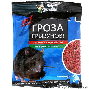 Зерно Домовой Гроза 100гр., пакет