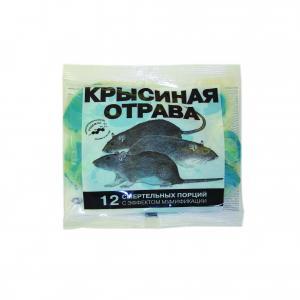 Тесто-брикет Крысиная отрава 150гр.