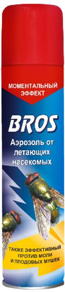 Аэрозоль BROS от летающих насекомых 250 мл.