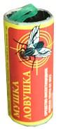 Липкая лента Мушка ловушка от мух с медом