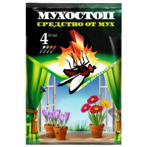 МУХОСТОП - средство от мух 10гр.