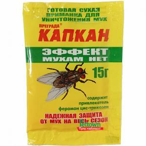 Приманка от мух Капкан Эффект Мухам нет 15гр.