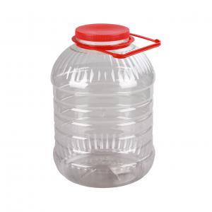 Банка 10 литров ПЭТ со съемной ручкой  (М3055)