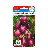 Баклажан Сибирский кистевой 20 шт.