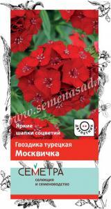 Гвоздика турецкая Москвичка 0,5г (Семетра)