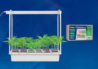 Светильник Минисад для растений с подставкой, спектр для фотосинтеза Uniel ULT-P34-10W/SPLE IP40 WH (Б-5441)