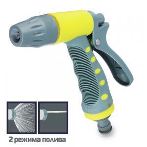 Пистолет для полива с регулятором напора воды, пластик (160-126)