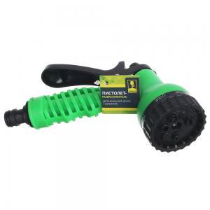 Пистолет-разбрызгиватель 7 режимов с эргономичной ручкой, пластик (161-006)